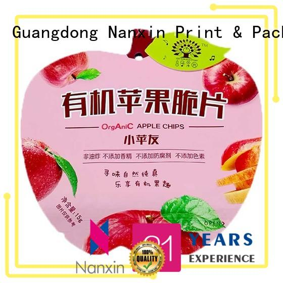 Nanxin Print & Packaging moisture proof pouch packaging gravure printing liquids
