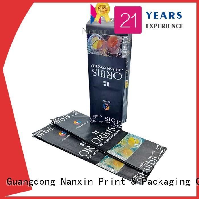 food packaging pouches flat bottom foods Nanxin Print & Packaging