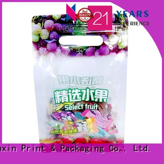 Nanxin Print & Packaging Top packaging pouches supply for foods