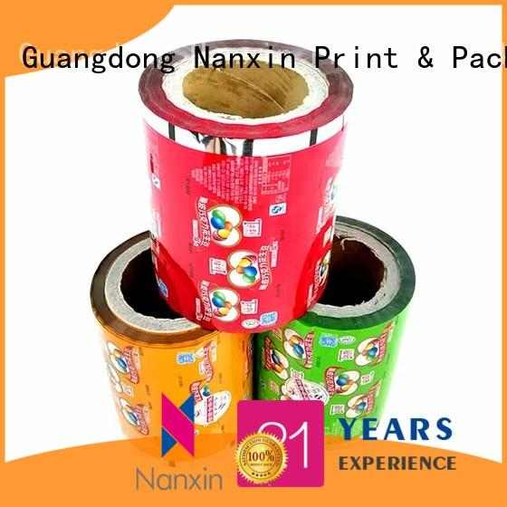 Nanxin Print & Packaging automatic printed printed film packaging long save time candy