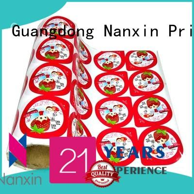 Nanxin Print & Packaging Latest flexible packaging film manufacturers for candy