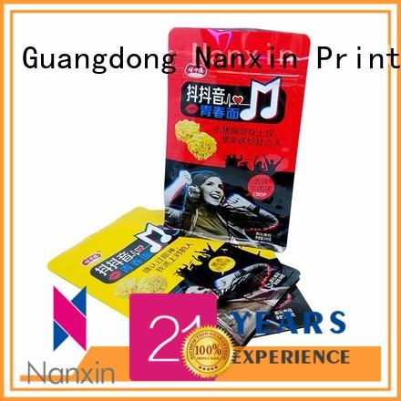 Nanxin Print & Packaging Custom flat bottom gusset bags for business for foods