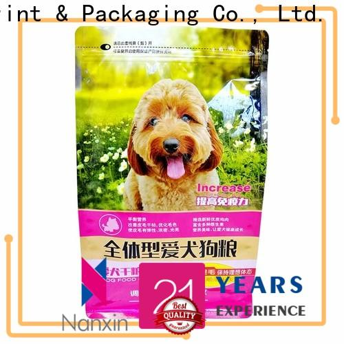 Nanxin Print & Packaging heat seal flat bottom bag manufacturers for snack