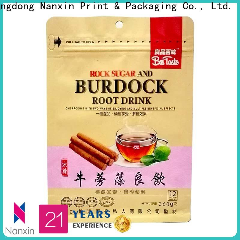 Nanxin Print & Packaging Top gusset pouch factory for foods