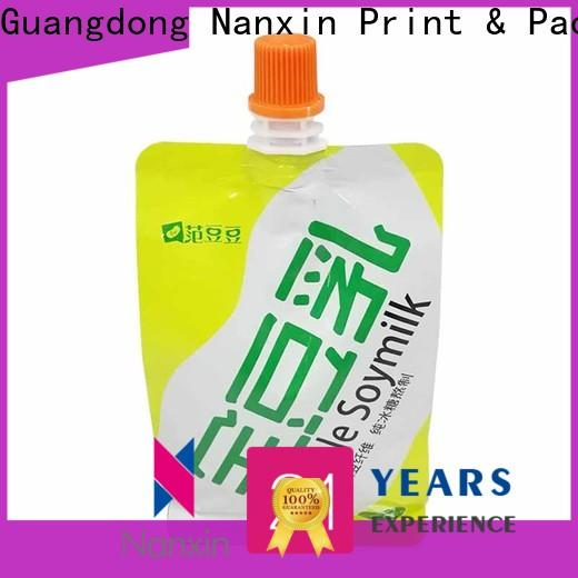 Nanxin Print & Packaging customized spout pouches factory for sauce