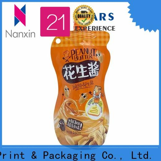 Nanxin Print & Packaging customized liquid spout bag wholesale for sauce