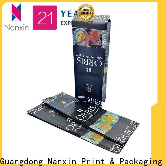 Nanxin Print & Packaging Wholesale packaging pouches manufacturers for snacks