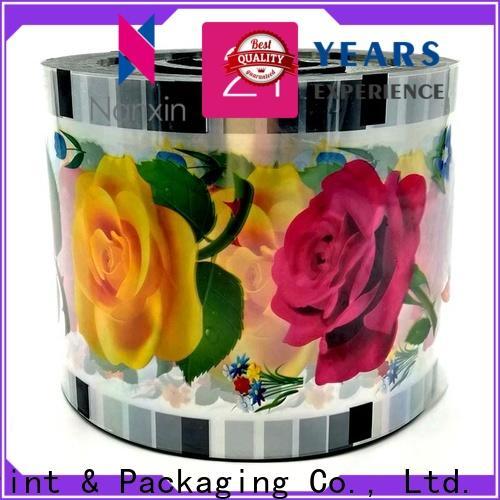 Custom bubble tea sealing film pet/cpp supply for drinks