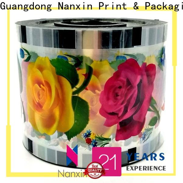 Nanxin Print & Packaging New cup sealer film for business for drinks