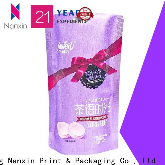 Custom flexible pouches packaging innovative pattern factory for snacks