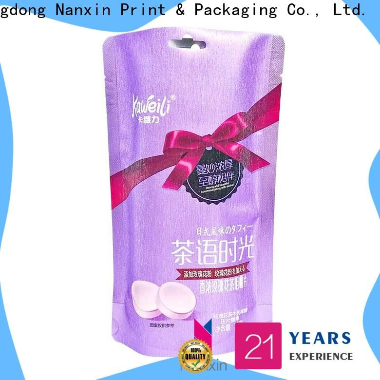 Nanxin Print & Packaging innovative pattern packaging pouches manufacturers for snacks