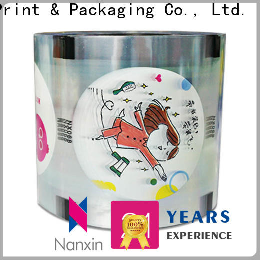 Nanxin Print & Packaging New bubble tea sealing film for business for drinks