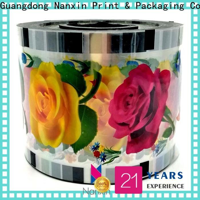 Wholesale cup sealer film transparent factory for shop mall