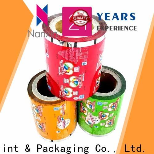 Nanxin Print & Packaging Best printed film packaging factory for cookies