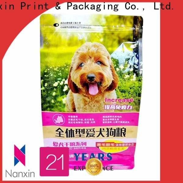Nanxin Print & Packaging Latest flat bottom pouch supply for snack
