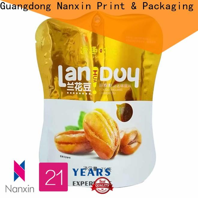 Nanxin Print & Packaging Latest stand up pouch factory for dried fruit or vegetable