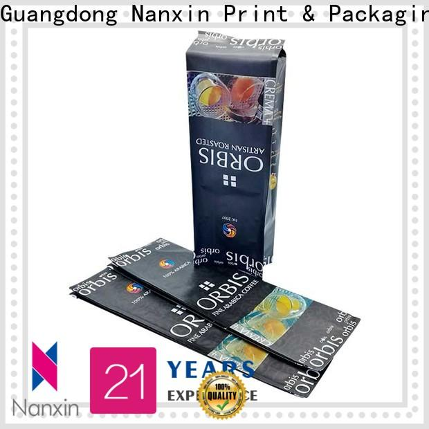 Nanxin Print & Packaging transparent pouch packaging company for liquids