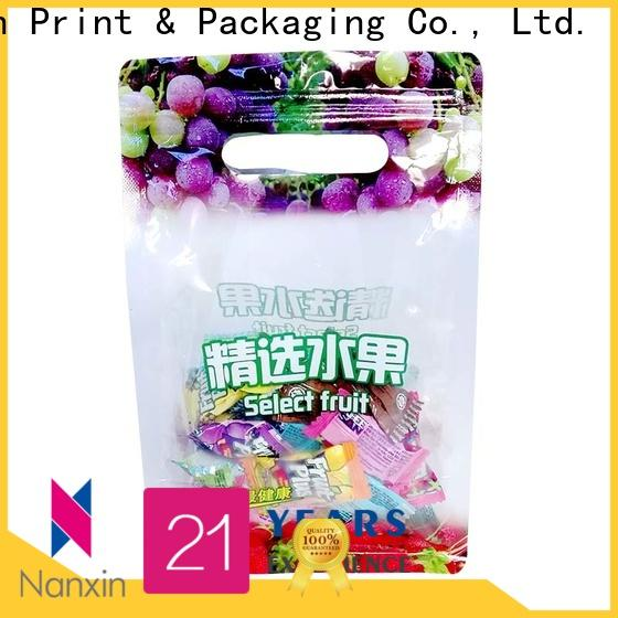 Nanxin Print & Packaging pet/pe flexible pouches packaging manufacturers for foods
