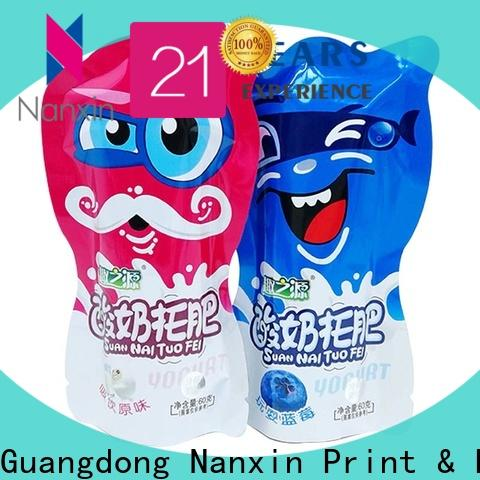 Nanxin Print & Packaging Best food pouch packaging manufacturers for foods