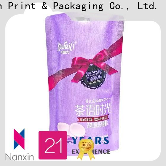 Nanxin Print & Packaging High-quality food pouch packaging suppliers for liquids
