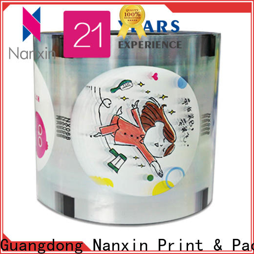 High-quality cup sealer film oxygen proof company for jelly