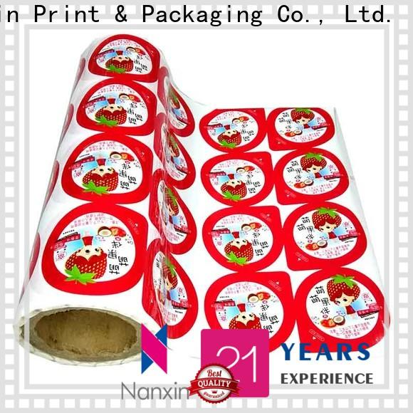 Nanxin Print & Packaging Top laminated packaging films company for candy