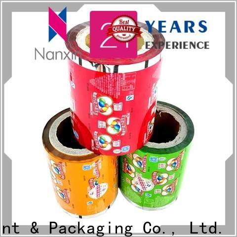 Nanxin Print & Packaging Best food packaging film suppliers for candy