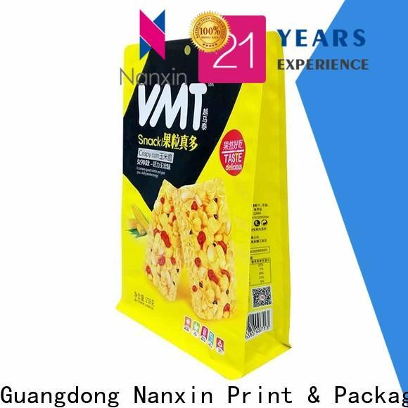 Best flat bottom gusset bags flat bottom shape company for foods