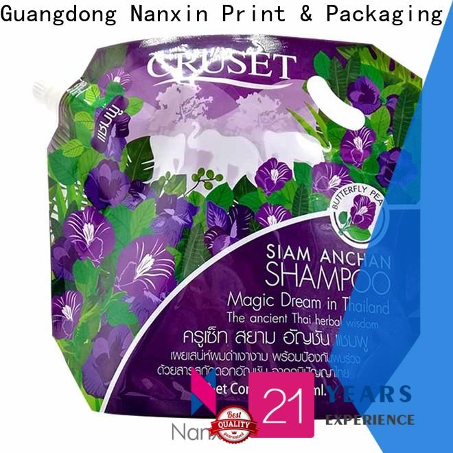 Nanxin Print & Packaging flat bottom spout pouch packaging company for juice