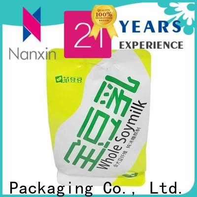 Nanxin Print & Packaging New spout pouch for business for lotion