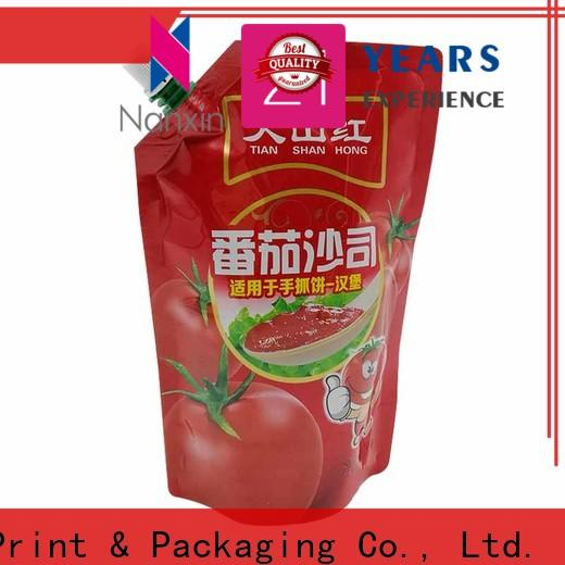 Nanxin Print & Packaging Custom spout pouch packaging company for juice