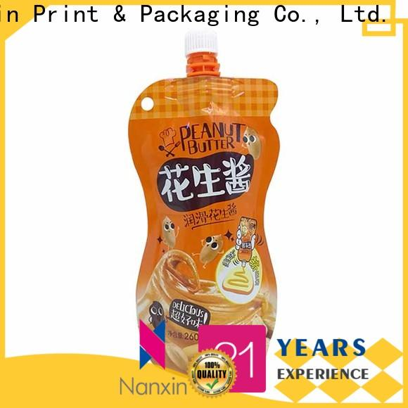 Nanxin Print & Packaging New spout pouches supply for yoghurt