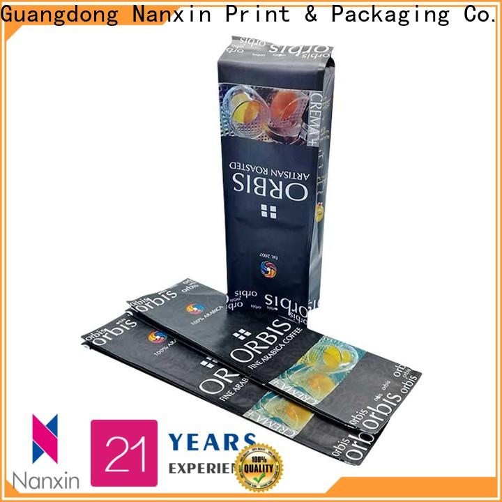 Nanxin Print & Packaging Top pouch packaging manufacturers for foods