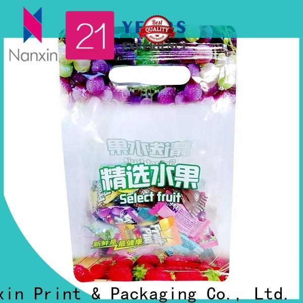 Top packaging pouches flat bottom suppliers for snacks