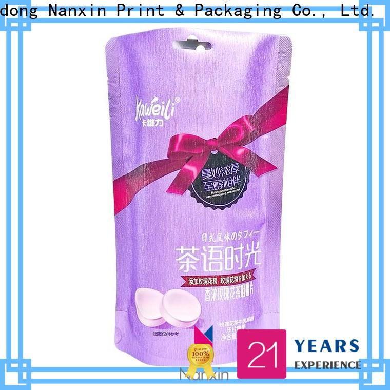 Nanxin Print & Packaging Best flexible pouches packaging manufacturers for liquids