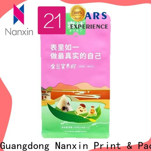 Nanxin Print & Packaging Wholesale gusset pouch factory for cookies