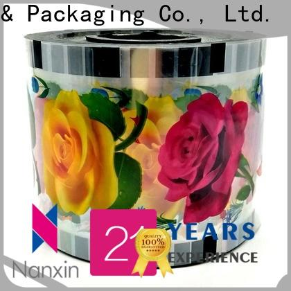 Nanxin Print & Packaging pet/cpp plastic cup sealing film suppliers for jelly