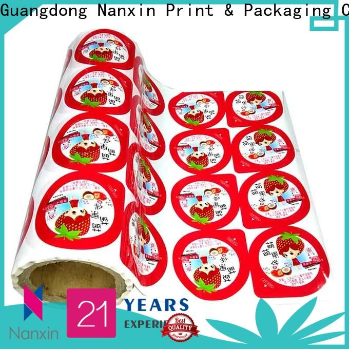 Nanxin Print & Packaging pet/al/cpp printed packaging film supply for candy