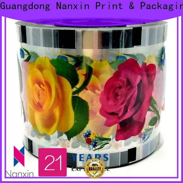 Top bubble tea sealing film moisture proof manufacturers for jelly