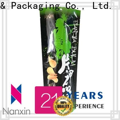 Latest stand up ziplock pouch zipper supply for pet foods