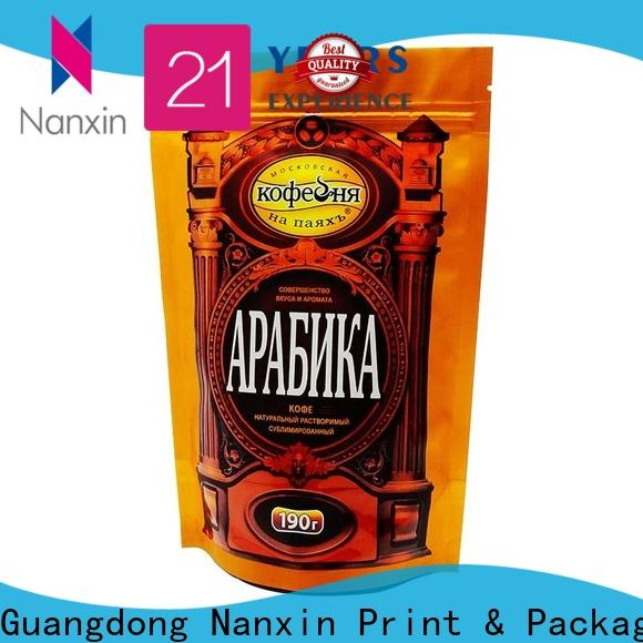 Nanxin Print & Packaging New stand up pouch suppliers for pet foods