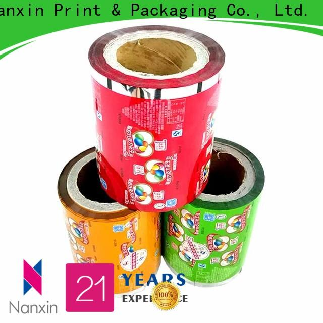 Nanxin Print & Packaging Best printed packaging film factory for pudding