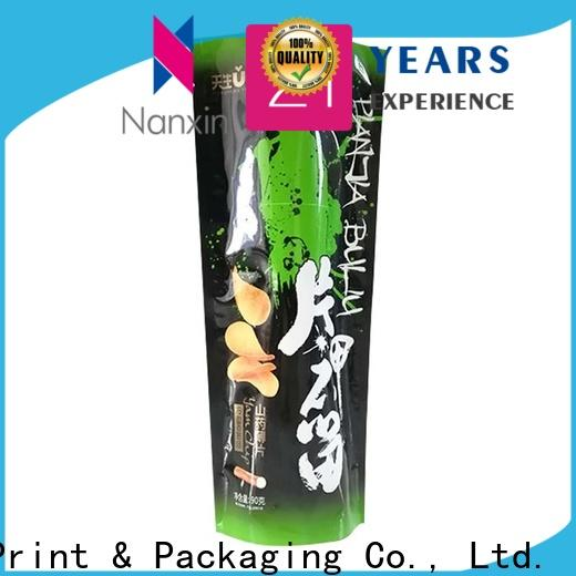 Nanxin Print & Packaging Latest stand up pouch bags for business fpr snacks