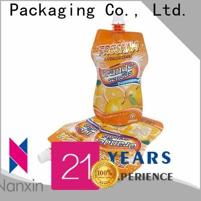 Nanxin Print & Packaging Custom spout pouch manufacturers for juice