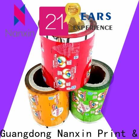 Nanxin Print & Packaging highlight glossy flexible packaging film supply for candy
