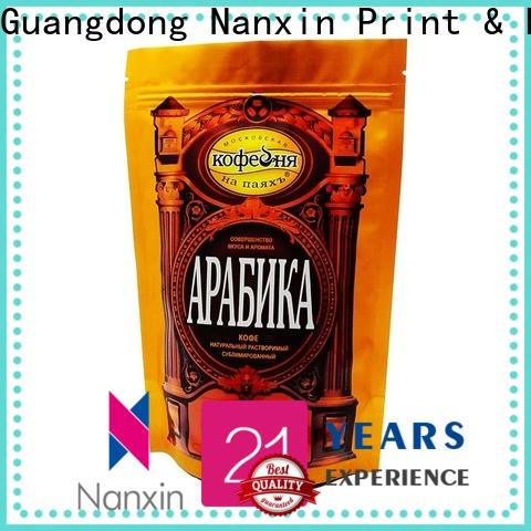 Nanxin Print & Packaging Latest stand up pouch bag manufacturers for pet foods