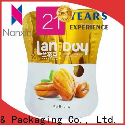 Nanxin Print & Packaging Custom standing up pouch company for dried fruit or vegetable