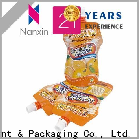 High-quality spout bag laminated films company for liquids