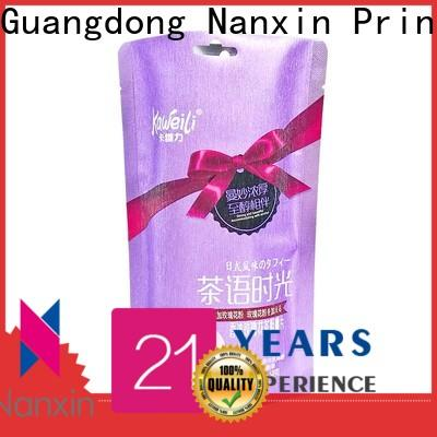 Nanxin Print & Packaging High-quality pouch packaging suppliers for snacks