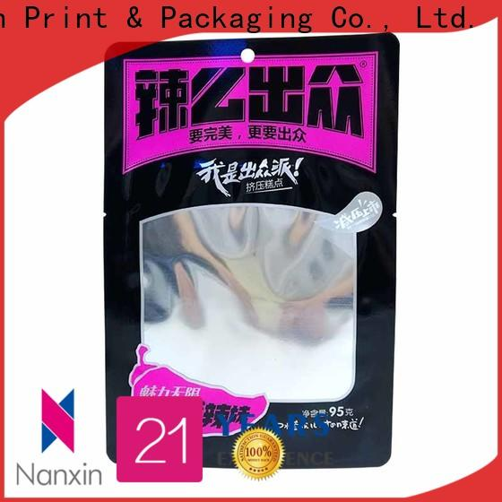 Nanxin Print & Packaging Wholesale packaging pouches company for liquids